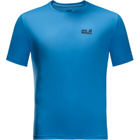 Jack Wolfskin Tech T-shirt Heren, brilliant blue